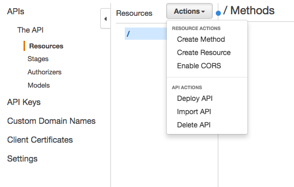 Server-less API на AWS за 15 минут - 4