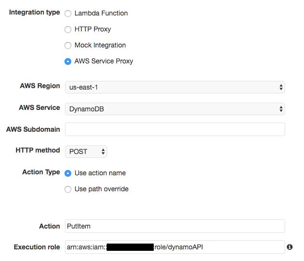 Server-less API на AWS за 15 минут - 6