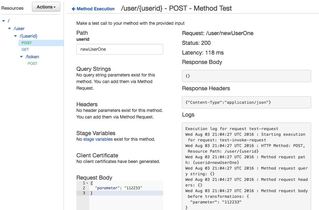 Server-less API на AWS за 15 минут - 8