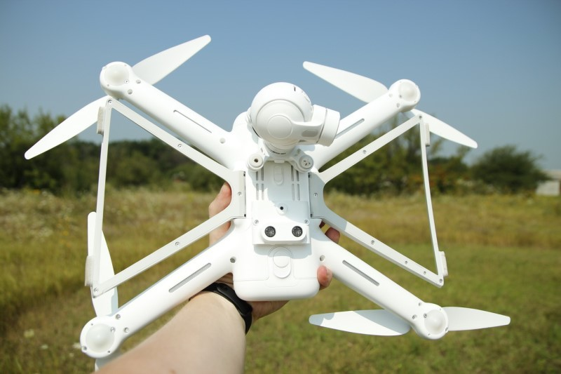 Xiaomi Mi Drone — первые реальные тесты нового квадрокоптера - 18