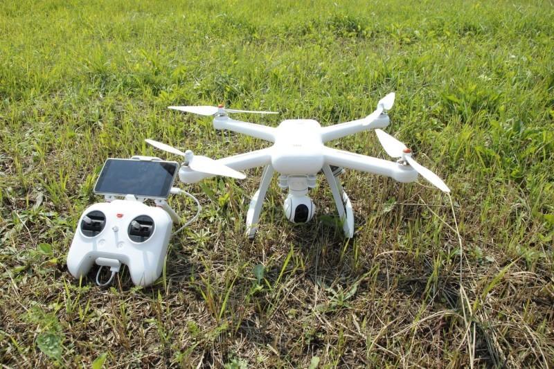 Xiaomi Mi Drone — первые реальные тесты нового квадрокоптера - 1