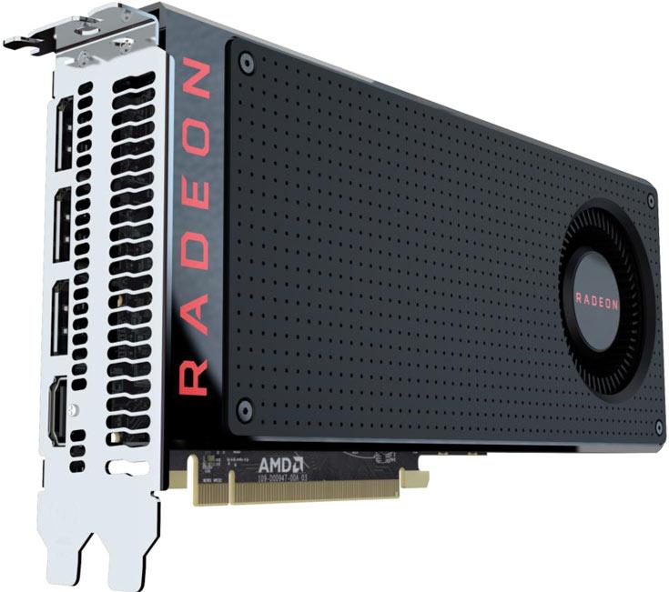 Основой 3D-карты AMD Radeon RX 470 служит GPU Polaris 10