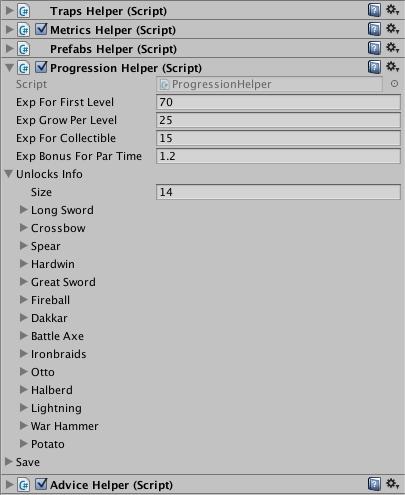 Делаем работу нашего гейм-дизайнера в Unity удобнее и приятнее - 2