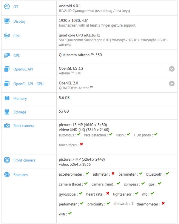 Смартфон OnePlus 3 Mini получит дисплей диагональю 4,6 дюйма и 6 ГБ ОЗУ
