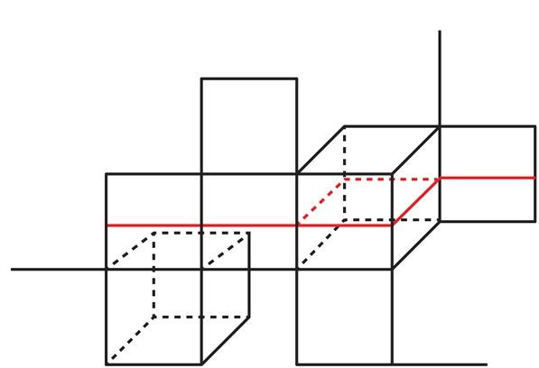 Входим в форму: от гиперболической геометрии до кубических комплексов и обратно - 11
