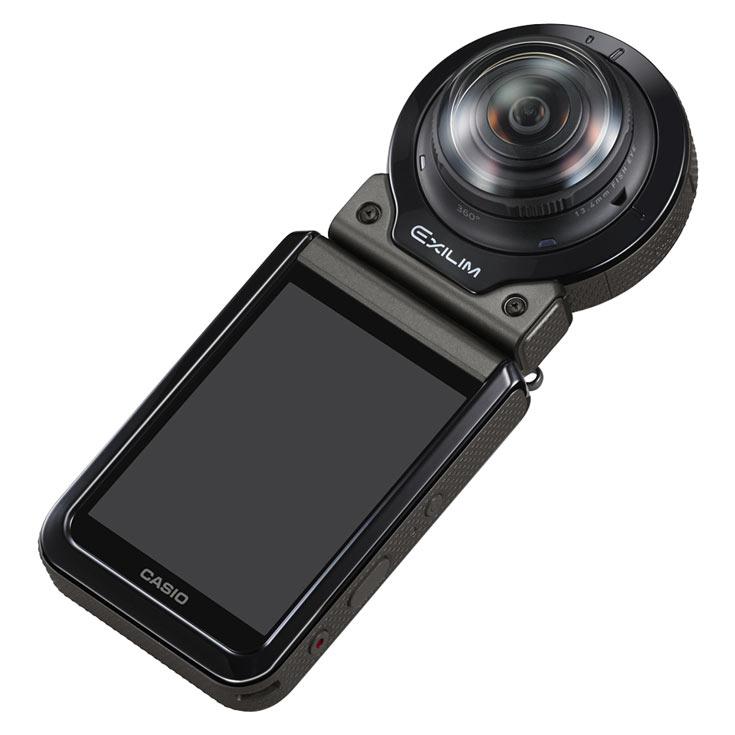Представлена панорамная камера в усиленном исполнении Casio EX-FR200