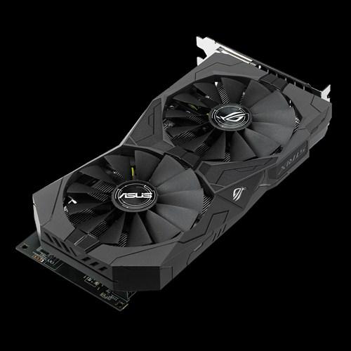 Видеокарты Asus Radeon RX 470 полностью бесшумны при малой нагрузке