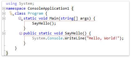CodeRush for Roslyn: Part 3 — обзор возможностей для изучения кода - 6