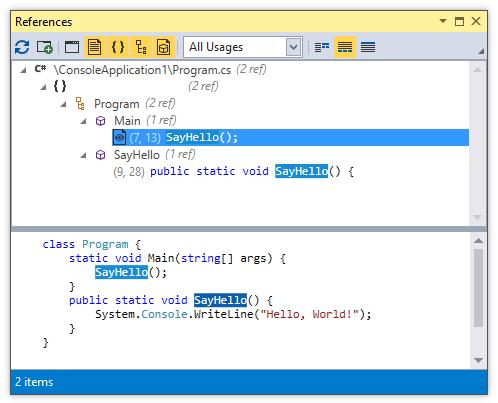 CodeRush for Roslyn: Part 3 — обзор возможностей для изучения кода - 8