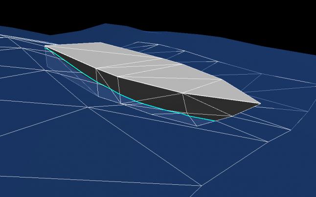 Модель взаимодействия судов с водой в видеоиграх - 1