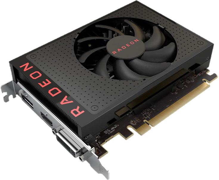 Основой 3D-карты AMD Radeon RX 460 служит GPU Polaris 11