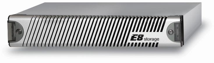 Производитель называет E8-D24 первым централизованным массивом SSD с поддержкой NVMe