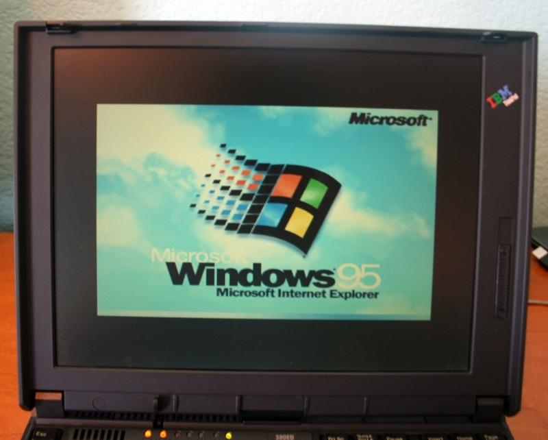 Шаг в прошлое. Небольшой обзор IBM ThinkPad 380ED - 11
