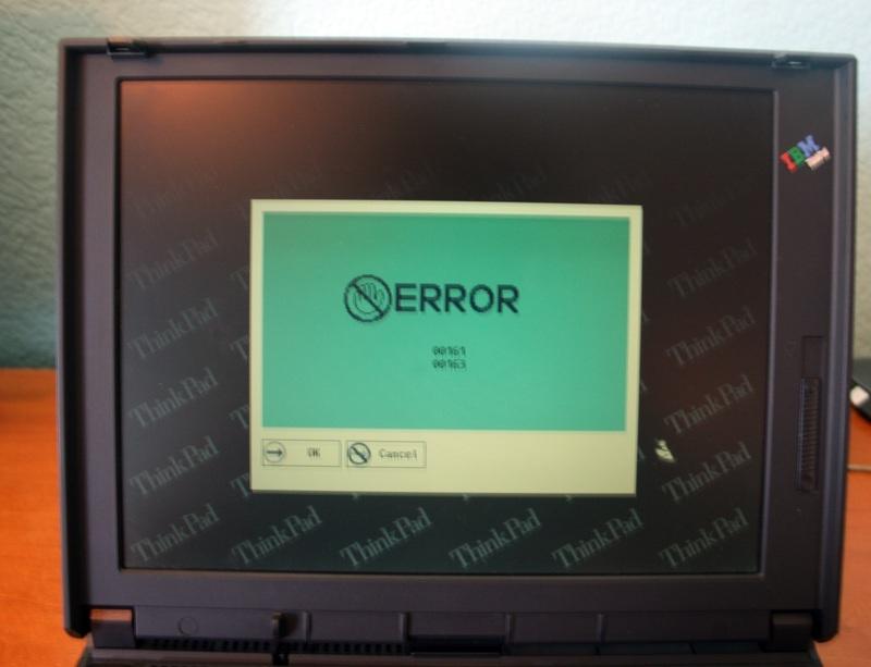 Шаг в прошлое. Небольшой обзор IBM ThinkPad 380ED - 9