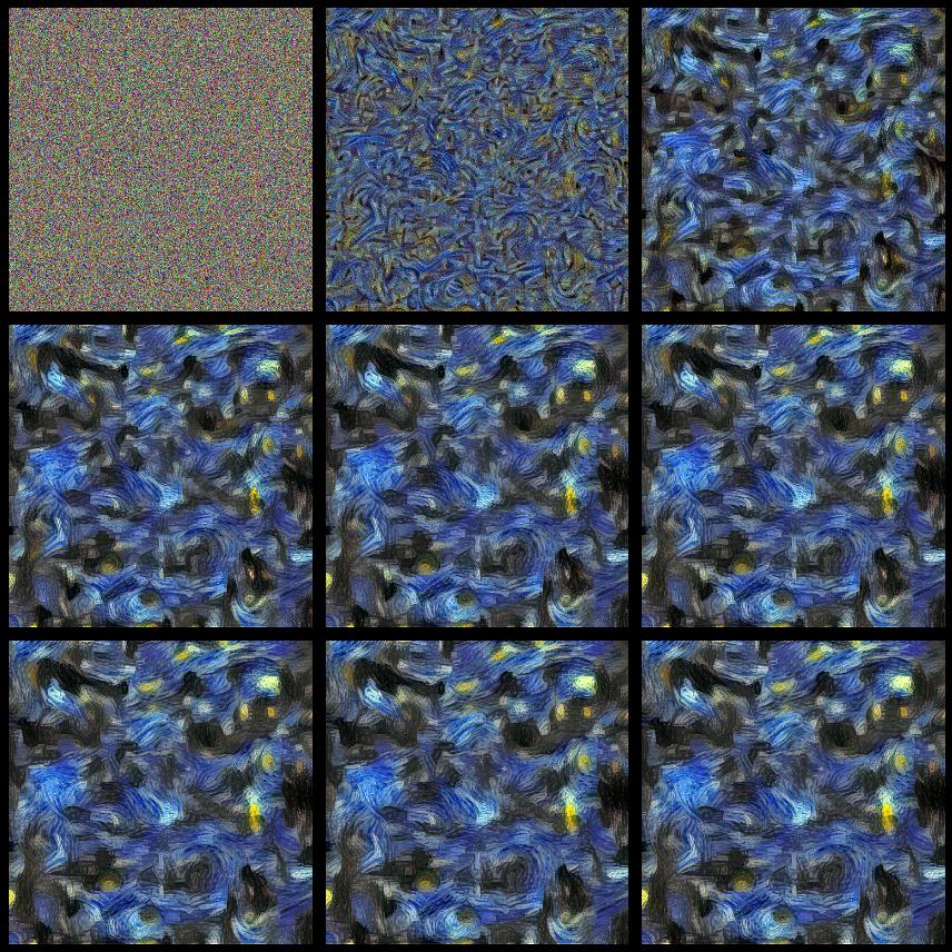 Стилизация изображений с помощью нейронных сетей: никакой мистики, просто матан - 35