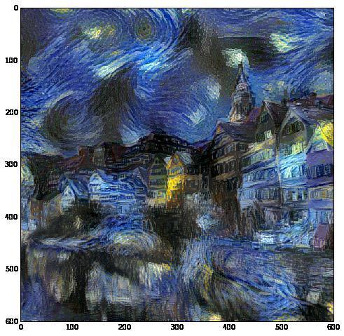 Стилизация изображений с помощью нейронных сетей: никакой мистики, просто матан - 42