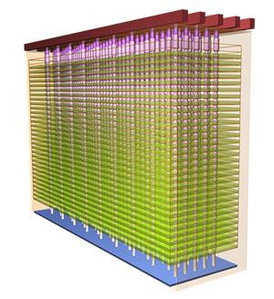 Память 3D NAND упаковывается в корпуса PoP размерами 9 x 9 мм или MCP размерами 8,5 x 11 мм