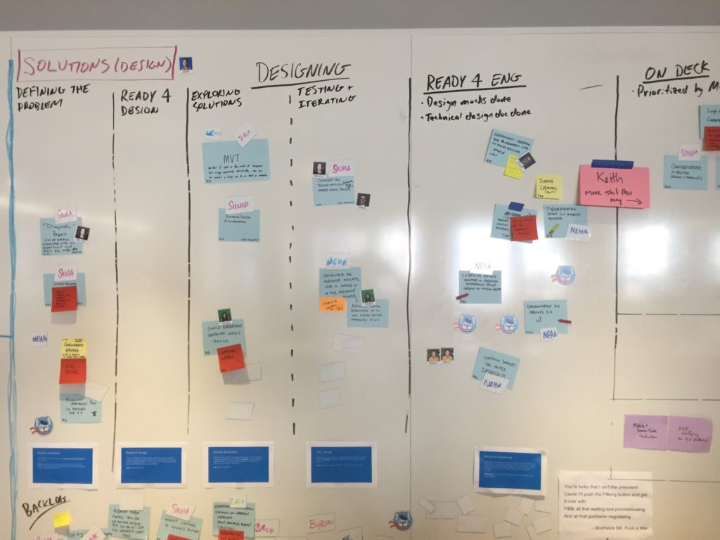 Discovery Kanban at Optimizely