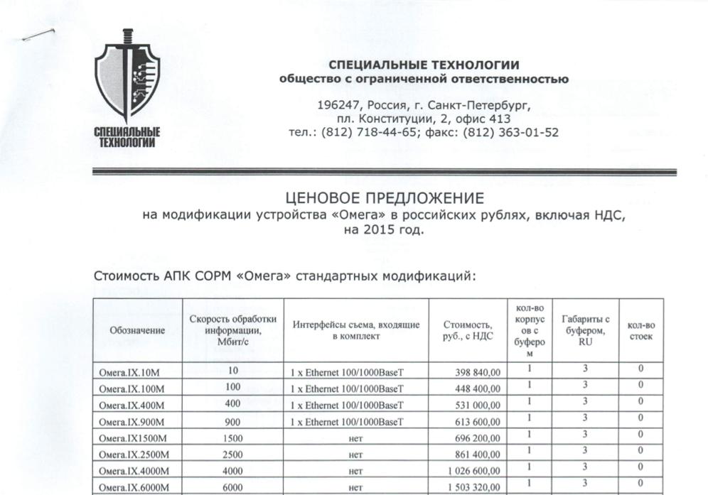 ФСБ предлагает доработать СОРМ для исполнения «пакета Яровой» - 3