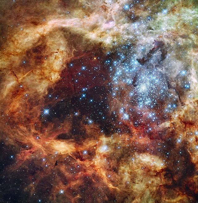 Крупнейшая чёрная дыра в известной части Вселенной - 2