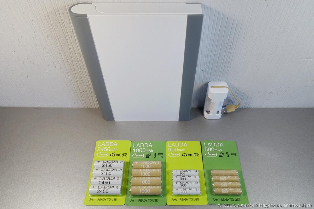 Новые аккумуляторы и зарядные устройства IKEA - 3