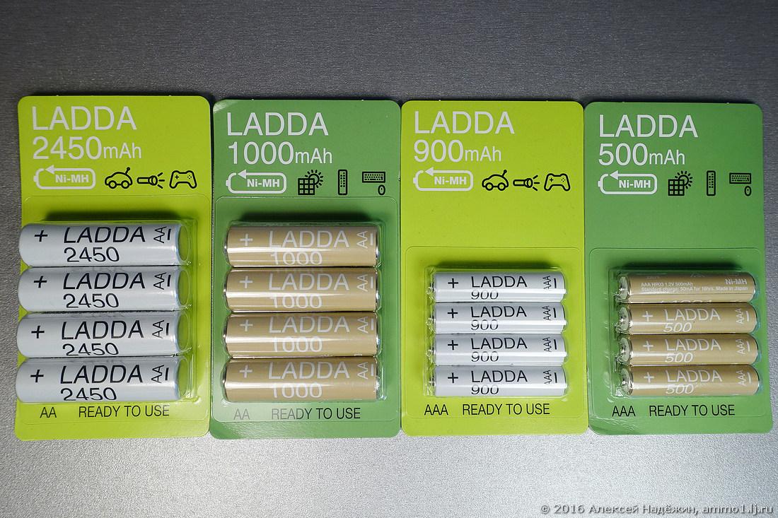 Новые аккумуляторы и зарядные устройства IKEA - 4
