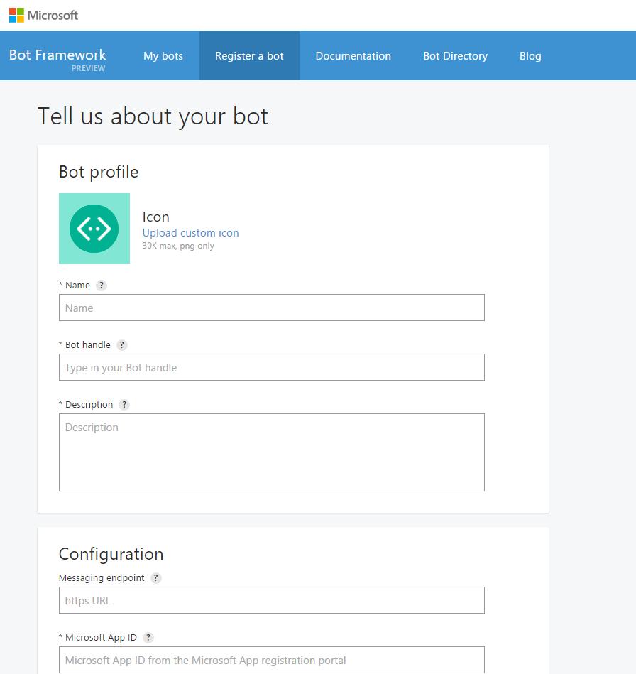 Пишем мультиплатформенного бота для перевода денег с карты на карту с помощью Microsoft Bot Framework V1 - 6