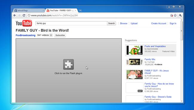 В сентябре Chrome начнёт полностью блокировать Flash - 2