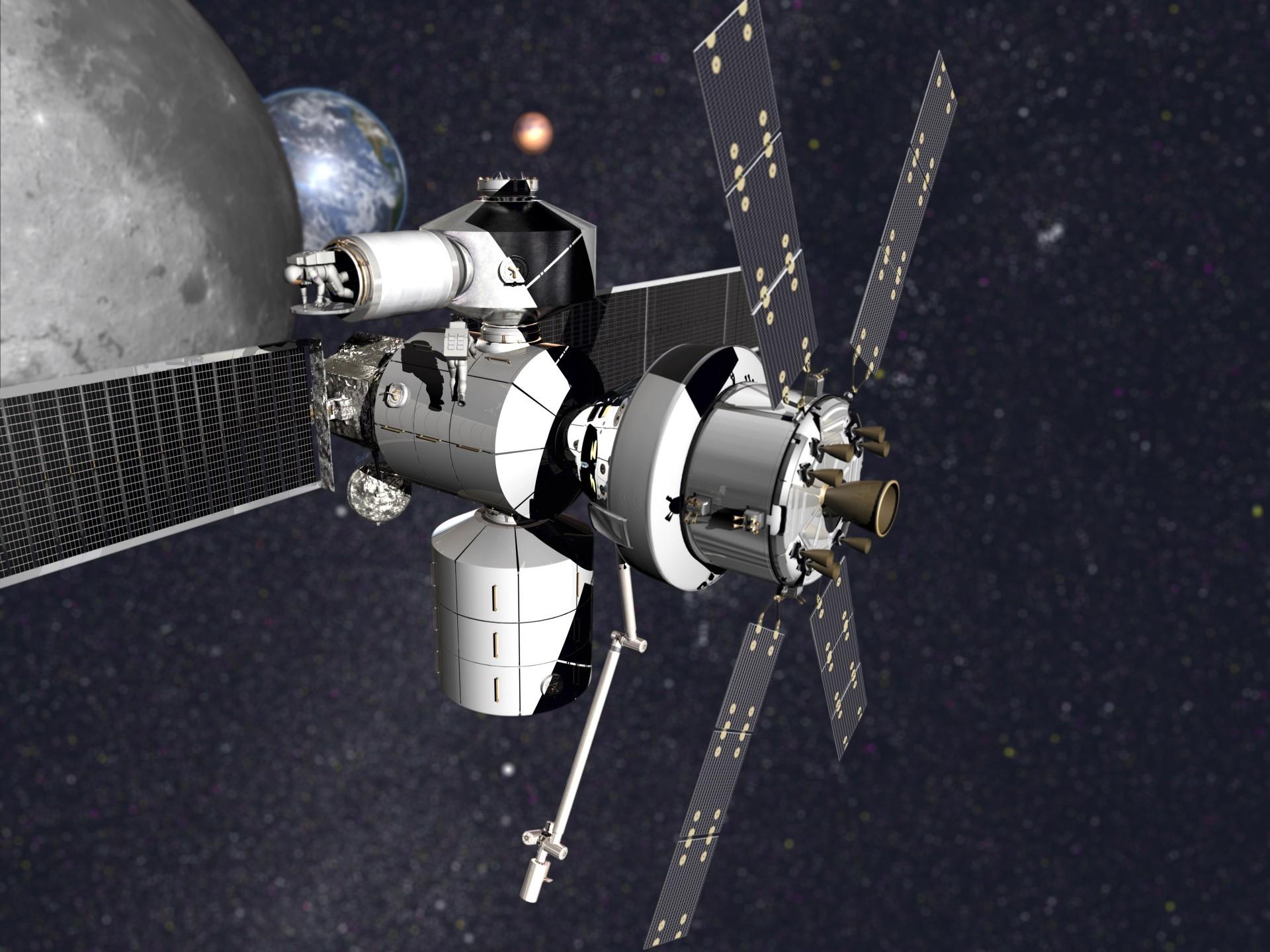 НАСА выбрало подрядчиков для разработки жилья в дальнем космосе - 5