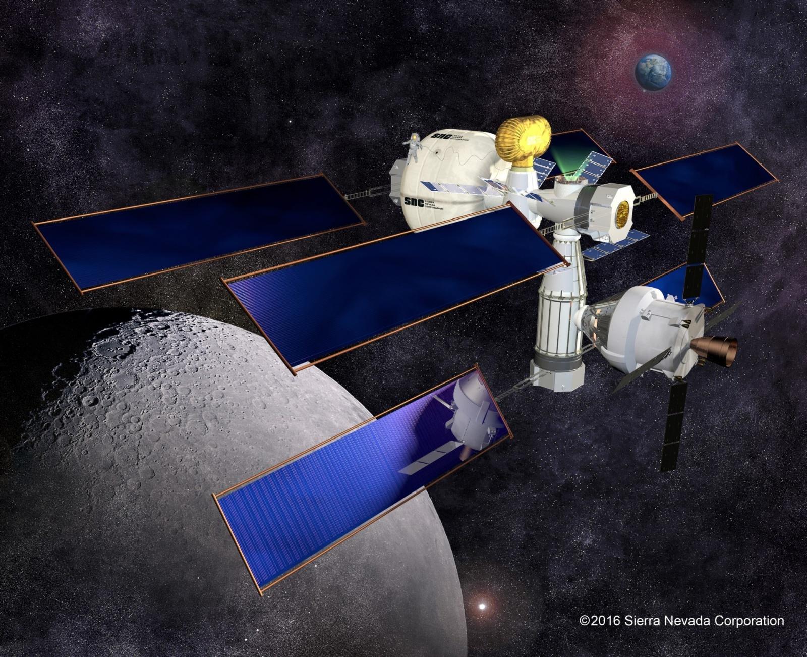 НАСА выбрало подрядчиков для разработки жилья в дальнем космосе - 7