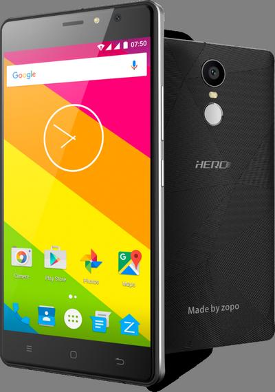 Смартфон Zopo Hero 2 оснащен SoC MT6737 и дактилоскопическим датчиком при цене $70