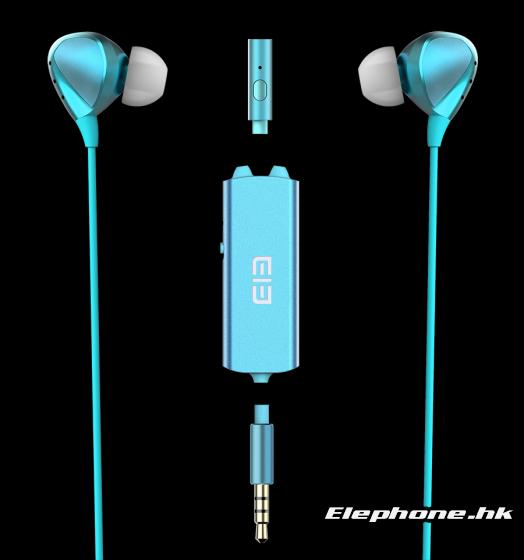 Наушники Elephone Ele Whisper оснащены съемным блоком шумоподавления