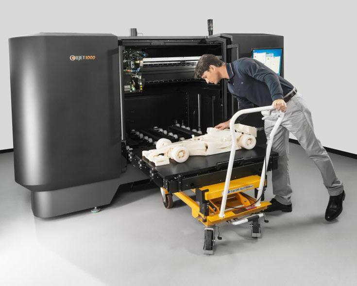 На устройства для 3D-печати и расходные материалы для них приходится только половина расходов