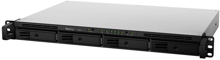 Сервер Synology RackStation RS816 рассчитан на монтаж в стойку