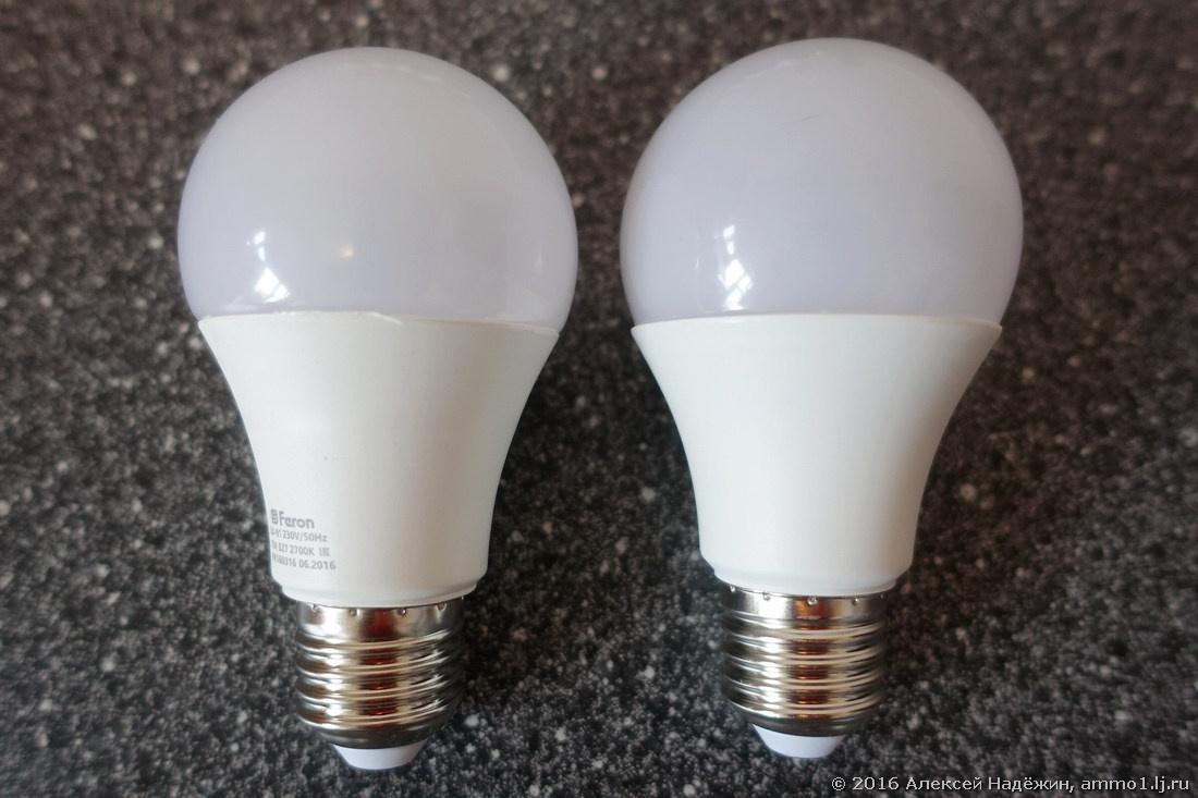 Светодиодные лампы Feron - 4