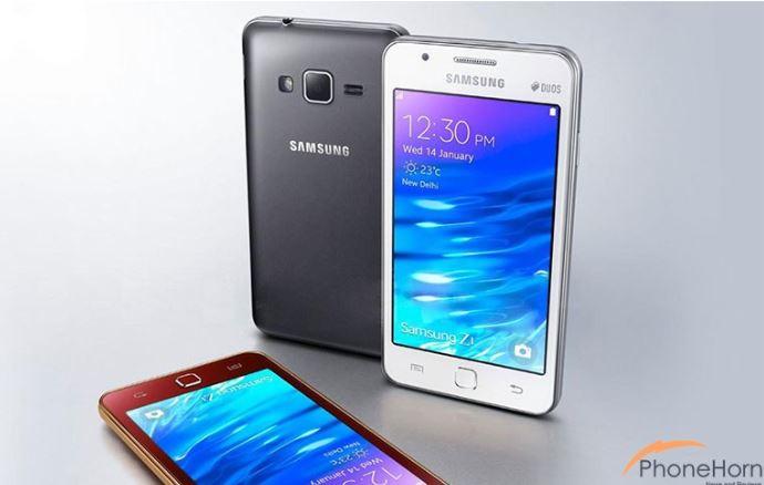 Оснащение Samsung Z2 включает основную камеру разрешением 5 Мп