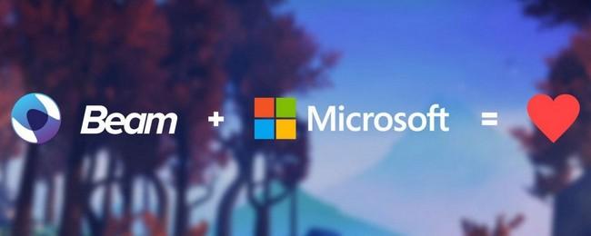 Microsoft приобрела сервис Beam