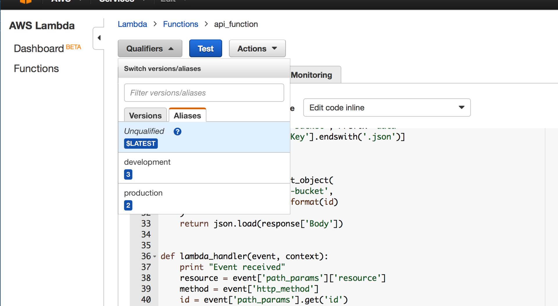 Создание WebView приложения на базе AWS ApiGateway и AWS Lambda - 7