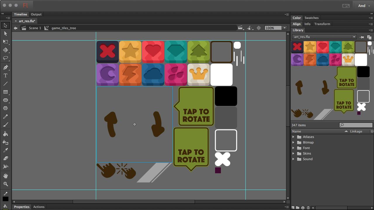 Adobe AIR + Starling + растеризация векторной графики - 4