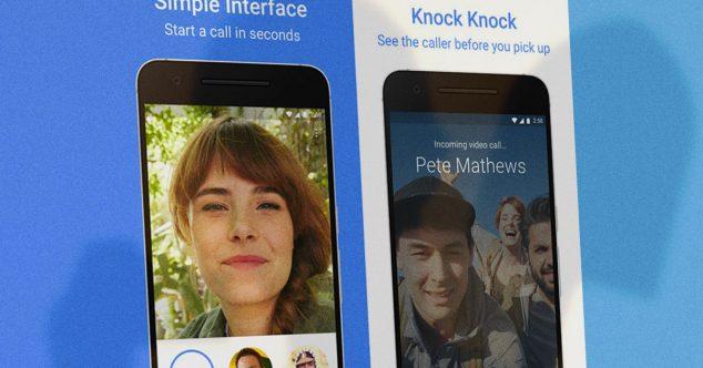 Мессенджер Google Duo, конкурент Skype/FaceTime