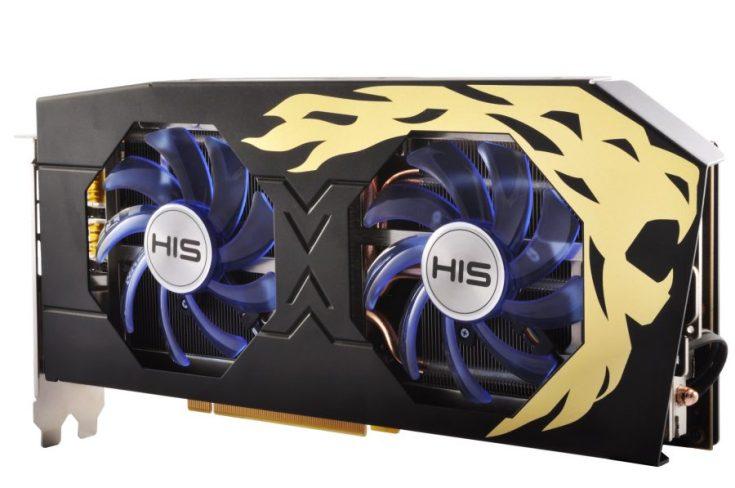 HIS представила две видеокарты Radeon RX 480