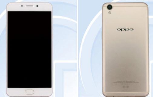 Опубликованы первые изображения смартфона Oppo R9s
