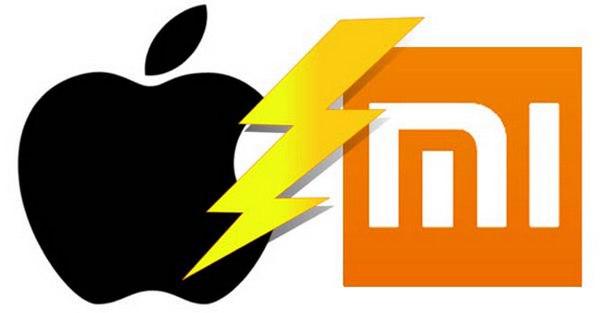 Продажи смартфонов Apple и Xiaomi в Китае обвалились на 32% и 38% соответственно