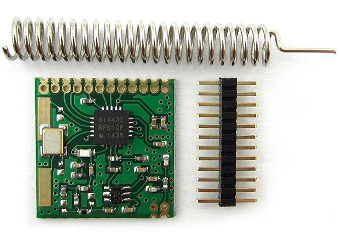 Работа с радиомодулями SI4432 - 1