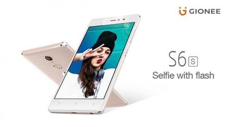 Смартфон Gionee S6s получит фронтальную вспышку