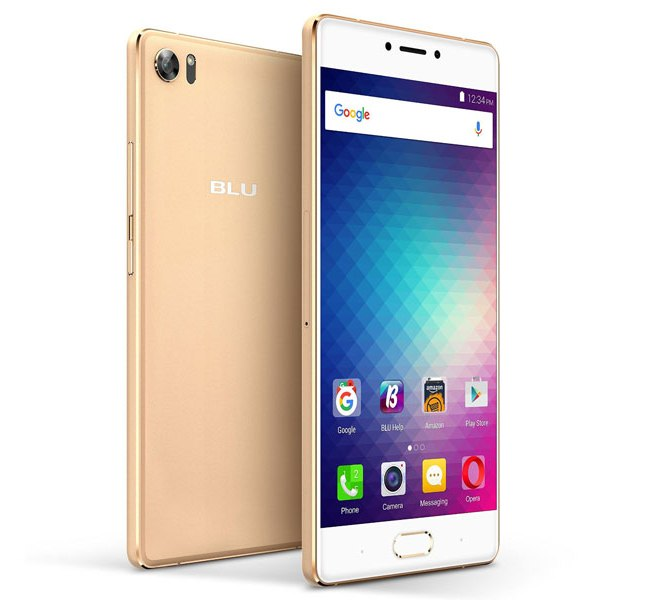 Смартфон Blu Products Pure XR заключён в металлический корпус