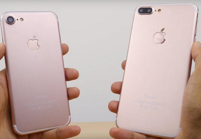 Новый видеоролик в разрешении 4K позволяет рассмотреть смартфоны iPhone 7 и 7 Plus во всех подробностях