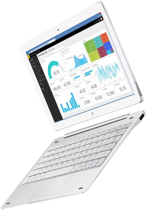 Планшет Teclast Tbook 16 Pro базируется на SoC Intel Atom x5