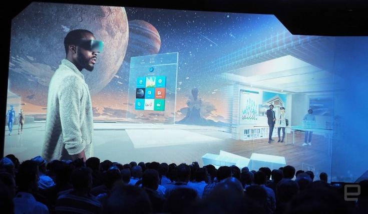 Windows Holographic станет доступен всем желающим в следующем году