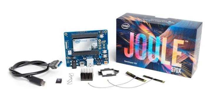 Комплект Intel Joule стоит около 300 долларов